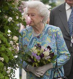 H.M. Queen E II @ Chelsea Flower Show