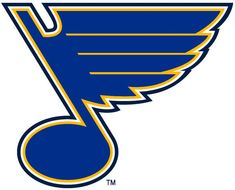 Louis Blues Primary Logo on Chris Creamer's Sports Logos Page - SportsLogos. A virtual museum of sports logos, uniforms and historical items. Hockey Logos, Nhl Logos, Ice Hockey Teams, Sports Logos, Soccer Logo, Hockey Stuff, Blue Color Hex, Blue Colour Palette, Color Palettes