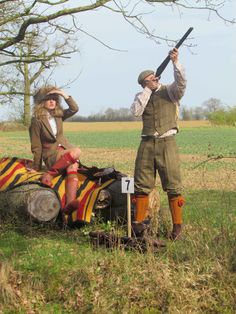 Класическо ловно облекло / Classic Shooting clothes