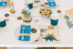 Dekoration Dino Geburtstag Kinder Party Box, Partys, Feta, Table Decorations, Delicious Snacks, Dekoration, Dinner Table Decorations