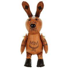 MCM Rabbit Sneaker Charm ($215) ❤ liked on Polyvore featuring bags, handbags, brown bag, brown handbags, mcm bags, rabbit fur bag and mcm purse