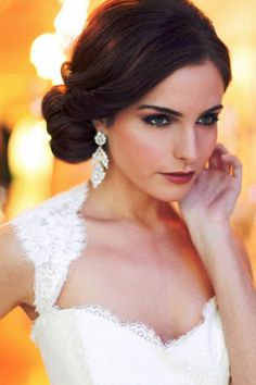bridal updos for round faces - Google Search
