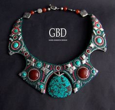 Guzel Bakeeva is a russian beadwork artist. Her jewellery works are amazing and beautiful. There is nothing much to say - just to see and t