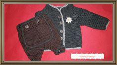 Sets - Baby Trachten mit Knickebocker - ein Designerstück von fladatsch-design bei DaWanda