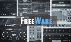 Freeware Software-Synths und Plug-Ins Test Freeware Synthesizer und PlugIns Freeware Software, Computer Music, Music Software, Home Studio Music, Learn To Play Guitar, Recorder Music, Music Lessons, Playing Guitar, Music Is Life