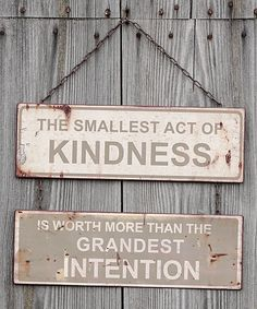 Another great find on #zulily! 'Act of Kindness' Wall Sign by Ragon House #zulilyfinds