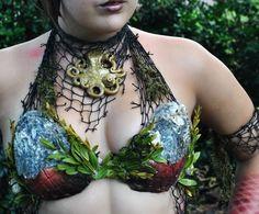 Merbella studios inc custom mermaid seashell top silicone octopus necklace