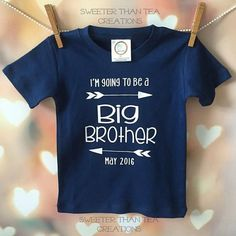 Big Brother Pregnancy Announcement Shirt   #Pregnancy #Announcement #BigBrother #Navy #Chic #BoysClothing #KidClothing #MomtoBe
