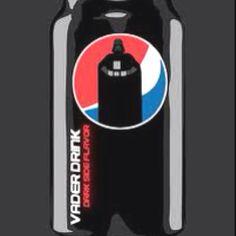I always did like dark cola Beverages, Drinks, Pepsi, Star Wars, Canning, Dark, Drinking, Drink, Starwars