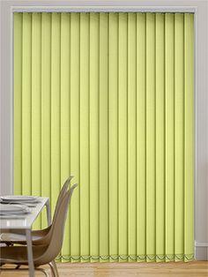 lime  blinds | Barcelona Key Lime Vertical Blind