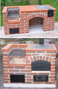 Discover amazing things and connect with passionate people. Brick Built Bbq, Brick Bbq, Outdoor Stove, Pizza Oven Outdoor, House Main Gates Design, House Design, Tabletop Fire Bowl, Stone Bbq, Fire Pit Grill