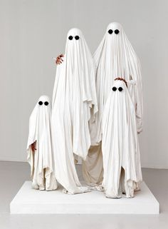 white Ghosts from Theo Mercier
