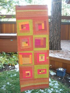 Autumn Table Runner by Stitching Hands, via Flickr