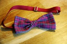 Cotton Check Bowtie #simonsbowties #recycled #cotton #redcheck #handmade Bowties, Red, Check, Cotton, Handmade, Accessories, Fashion, Tie Bow, Moda