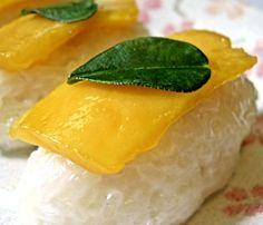 Classic Mango Sticky Rice Dessert