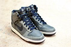online store 905a9 edc8a Undefeated x Nike Dunk High Ballistic Nike Dunks, Sneaker Magazine, Vans  Sneakers
