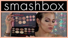**NEW** Smashbox #ShapeMatters BROWS, EYES & FACE Palette Review/Demo   ...