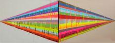 We Love Art & Design: Maya Hayuk and Jen Stark opening in Toronto Toronto Art Gallery, Jen Stark, Drip Painting, Aesthetic Iphone Wallpaper, Repeating Patterns, Love Art, Maya, Paper Art, Photo Art