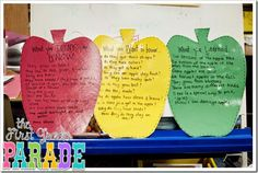 The First Grade Parade: Apples & Freebies!