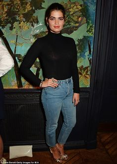 Looking good: Pixie Geldof chose a surprisingly safe outfit when she attended a Fashion We...