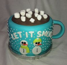 Winter Onederland smash cake by mick6799, via Flickr