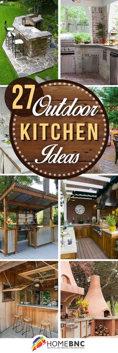The summer outdoor kitchen is a nice addition to the garden. Here are 20 beautiful examples of DIY outdoor kitchen ideas in different gardens.