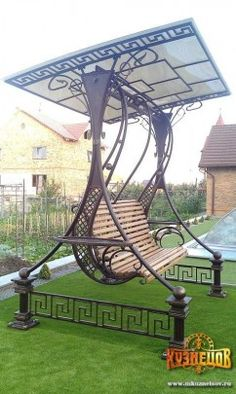 Wrought Iron Garden Swing - Google Search