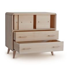 Chest lime wood massive French manufacturing by elisabethleroy1