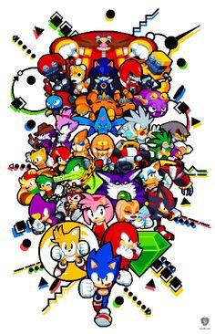 Sonic the Hedgehog by Paul Veer