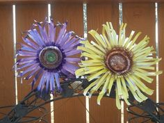 Soda pop garden art flowers | Yard Art