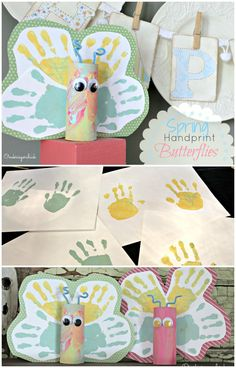 Handprint Butterflie