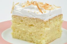 Bien Me Sabe, also known as Coconut Cream Cake, is a Venezuelan dessert that is moist, sweet and rich. Similar to a tres leches cake, Bien Me Sabe is best when allowed to chill overnight.