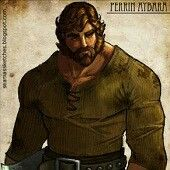 Perrin Aybara Golden eyes, Ta'veren, lord of the two rivers, wolfbrother, blacksmith, Husband to the Queen of saldaea Zarine ni Bashere aka Faile old tongue falcon
