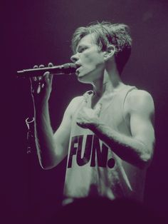 Nate Ruess. One of my biggest musical inspirations; he is extremely talented at both singing and writing.