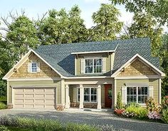 Traditional House Plan with Vaulted Family Room - 36038DK | Traditional, Narrow Lot, 1st Floor Master Suite, CAD Available, PDF | Architectural Designs