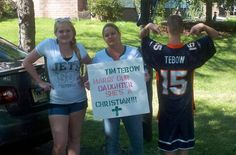 Tebow fans aren't Jets fans, But They Follow Tim All The Way