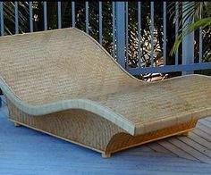 Hawaii's Gary Young, creator of bamboo surfboards and modernized versions of ancient Alaia wooden surfboards, shows an eco-conscious solution to life's stresses in this bamboo chaise lounge.