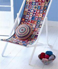 crochet chair cover - love!!
