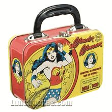 Wonder Woman vintage lunch box - lunch-boxes Photo