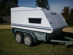 Multi-Purpose trailer from Australia at Compact Camping Concepts