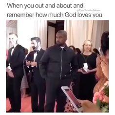 Funny Christian Memes, Christian Humor, God Loves You, Gods Love, Instagram, Love Of God
