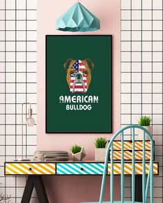 American Bulldog Dog Dog Lover Gift Bull T-Shirt - Forest Green english bulldogs funny, grey english bulldog, teacup bulldog puppies #bulldoggram #bulldoglifestyles #bulldoge, back to school, aesthetic wallpaper, y2k fashion