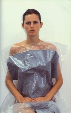 MARK BORTHWICK, 2000-1 MAISON MARTIN MARGIELA 1999: from the book 2000-1. stella tennant in margiela.