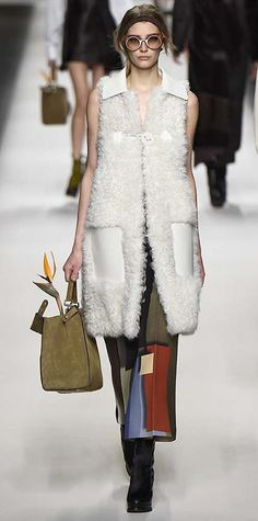 Runway Looks We Love: Fendi - Fall/Winter 2015 from #InStyle