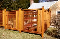 Asian Style Privacy Fence No. CF11a