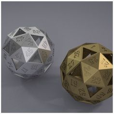 Something we liked from Instagram! Show your love for Dungeons and Dragons with this 60 Sided Dice by Claudio.gallego