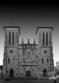 NEW! Now 'San Antonio - San Fernando Cathedral' can also be commercially licensed at http://licensing.pixels.com/featured/san-antonio-san-fernando-cathedral-christine-till.html