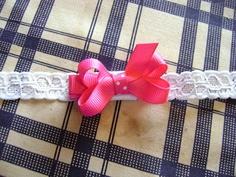 No Sew Infant Interchangable Headband