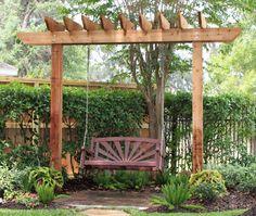 Arbor Swing Bench Arbor Swing Pergola Garden