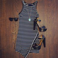 Hepburn Dress - Black
